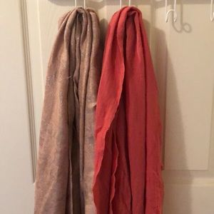 Scarves - 5/scarf or 8 for both